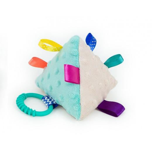 Hračka MINKY - pyramida béžová